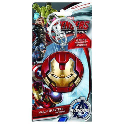 Chaveiro Cabeça do Hulkbuster: Vingadores: Era de Ultron - Monogram