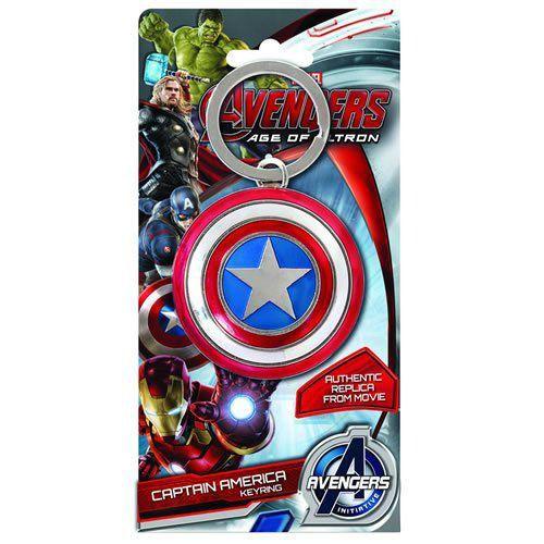 Chaveiro Escudo Capitão América: Vingadores: Era de Ultron - Monogram