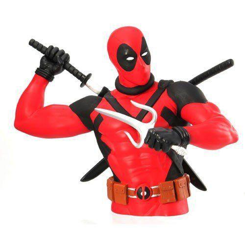 Cofre Busto Deadpool: Marvel - Monogram (Apenas Venda Online)