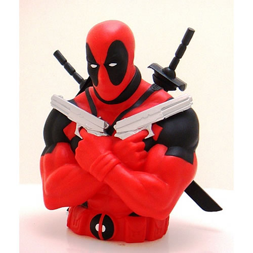 Cofre Deadpool Busto: Marvel - Monogram