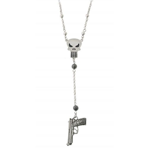 Colar Justiceiro (The Punisher Gun Charm): Marvel - Jewels LLC