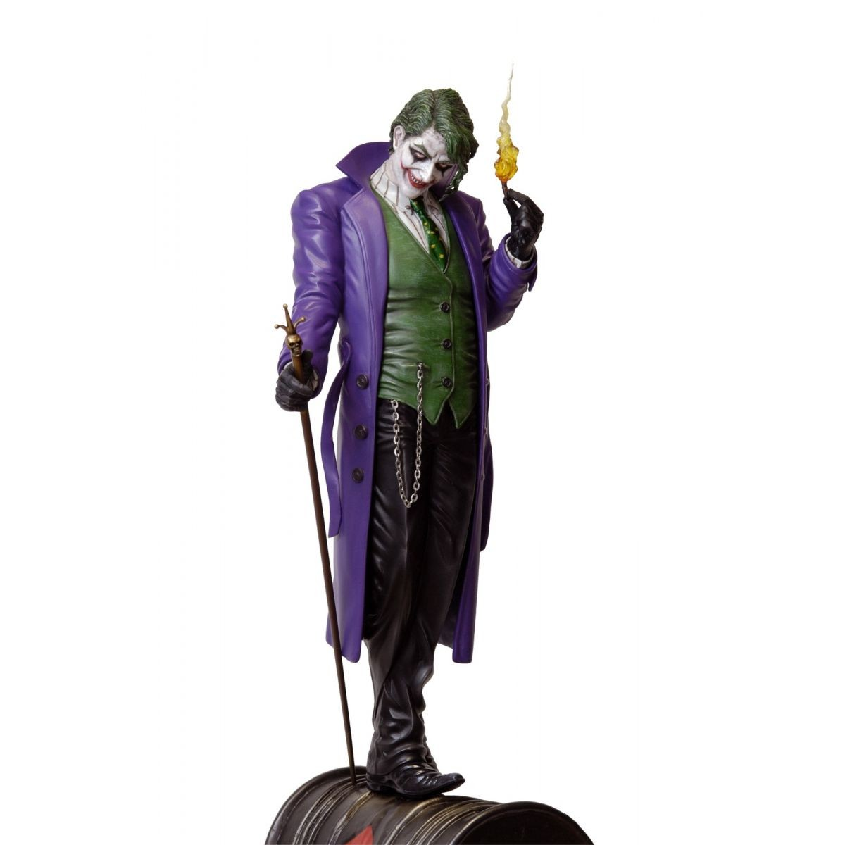 Estátua The Joker (Coringa) (Luis Royo): DC Comics Collection Escala 1/6 - Yamato Usa