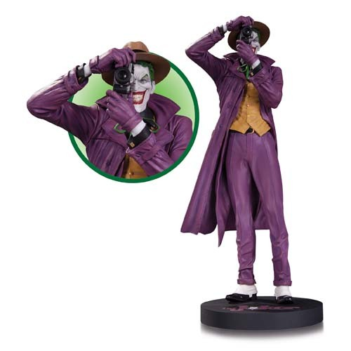 Estátua Coringa (The Joker): Batman: A Piada Mortal (The Killing Joke) by Brian Bolland - DC Collectibles (Apenas Venda Online)