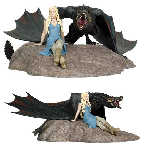 Estátua Daenerys And Drogon: Game Of Thrones (Limited Edition) - Dark Horse