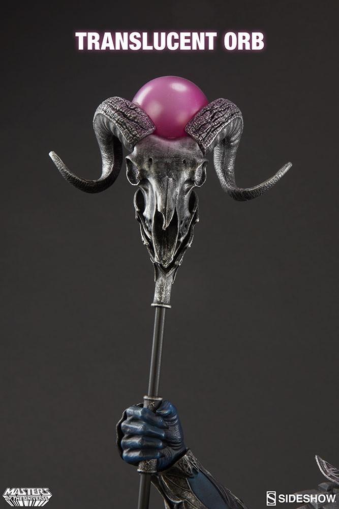 Estátua Esqueleto (Skeletor): Mestres do Universo (Masters Of The Universe) - Sideshow