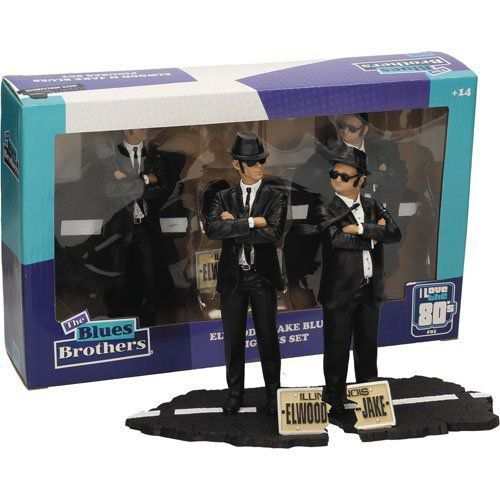 Pré-venda: Estátua Jake & Elwood: The Blues Brothers Movie Icons - SD Toys