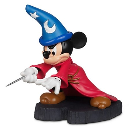 Estátua Mickey Mouse Feiticeiro Light Up - Disney