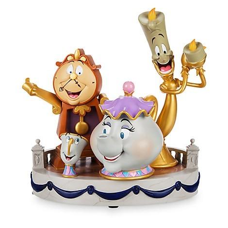 Estátua Objetos Encantados: Disney: Bela e a Fera (by Derek Lesinski) - Disney