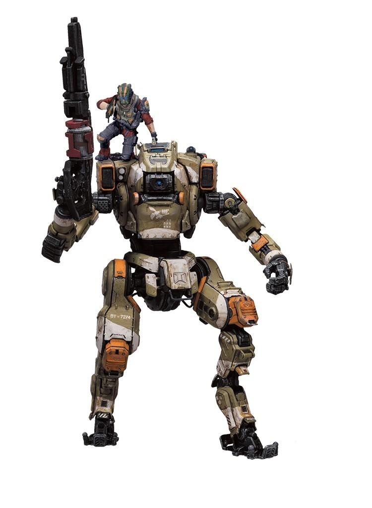 Estátua Robô BT-7274: Titanfall 2 - McFarlane