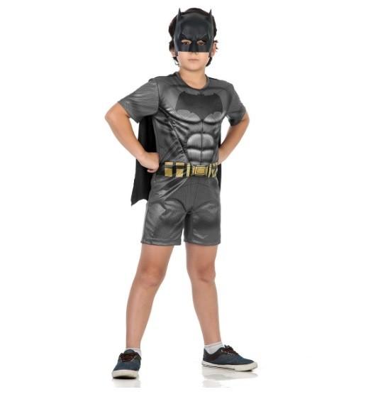 Fantasia Infantil Batman com Musculatura Curto: Batman vs Superman: A Origem da Justiça