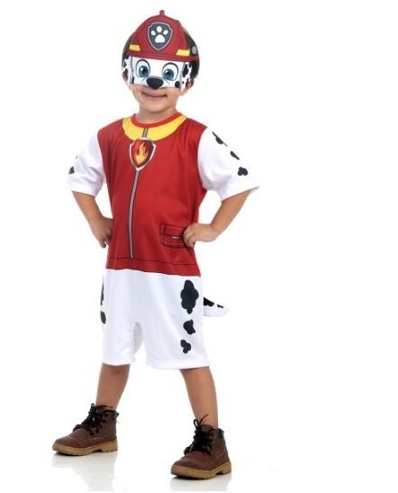 Fantasia Infantil Marshall Curto: Patrulha Canina