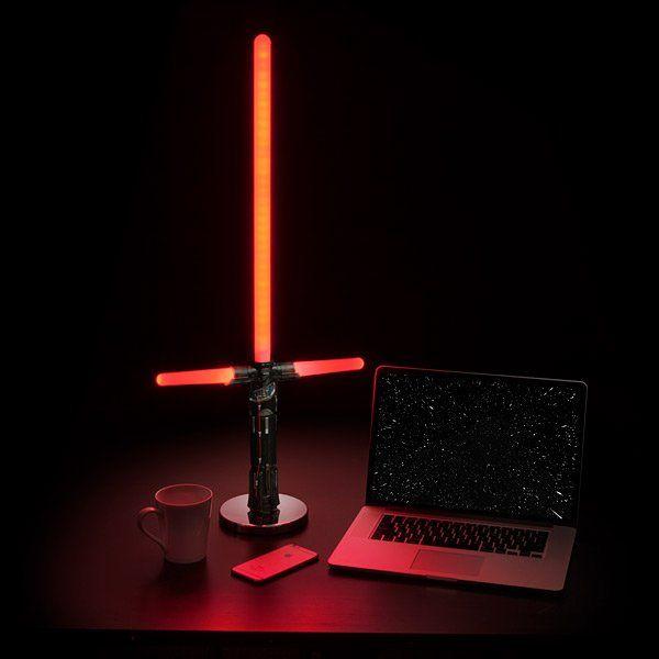 Luminária Sabre de Luz Star Wars: Kylo Ren Desktop
