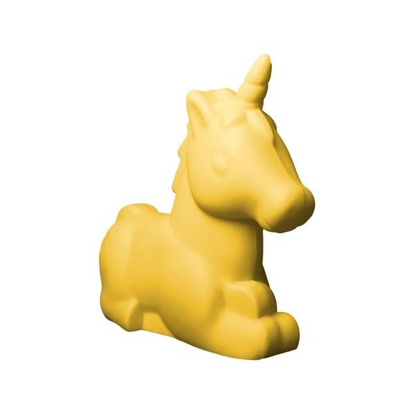 Luminária Unicórnio Amarela