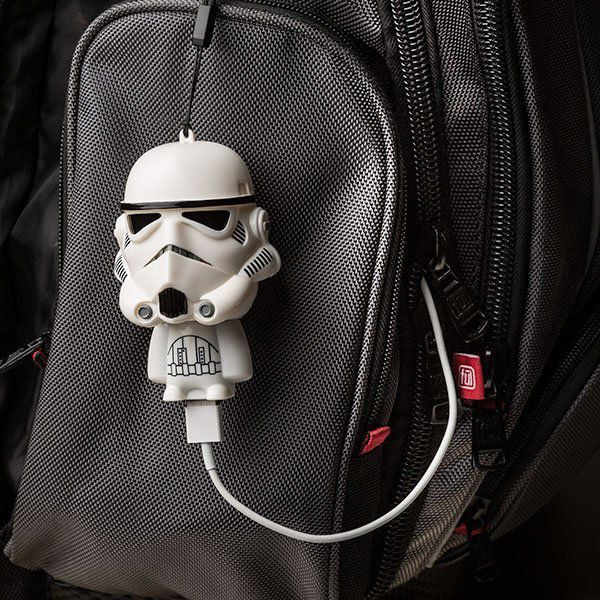 Mini Carregador (Power Bank) Stormtrooper: Star Wars USB Mighty Minis