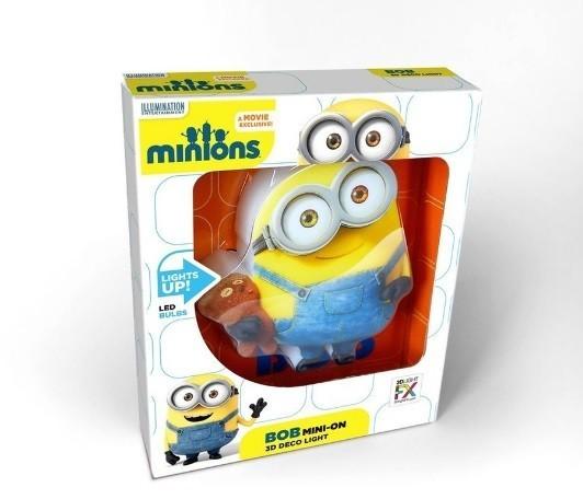 3D Mini Luminária Bob: Minions 3D Light FX