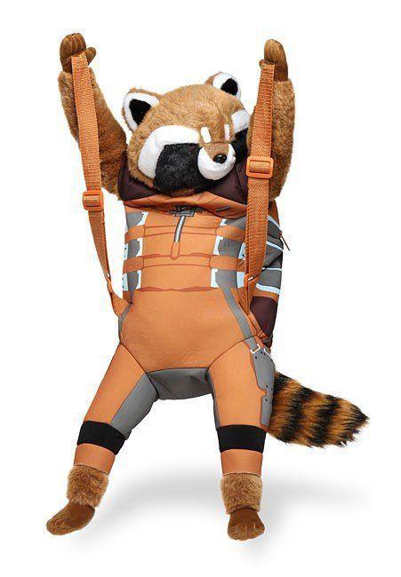 Mochila Corpo Rocket Raccoon: Marvel (Backpack Buddy) Exclusivo