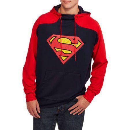 Moletom Logo Superman: DC Comics Preto e Vermelho