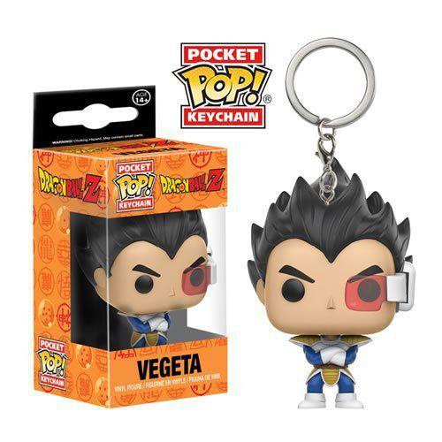 Funko Pocket Pop! Dragonball Z: Keychains (Chaveiro) Vegeta - Funko