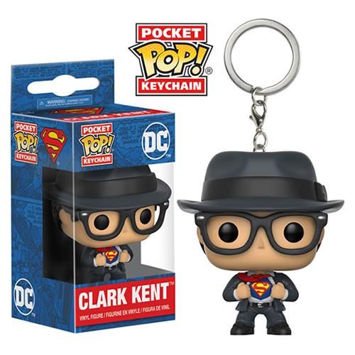 Pocket Pop Keychains (Chaveiro) Clark Kent: DC Comics - Funko