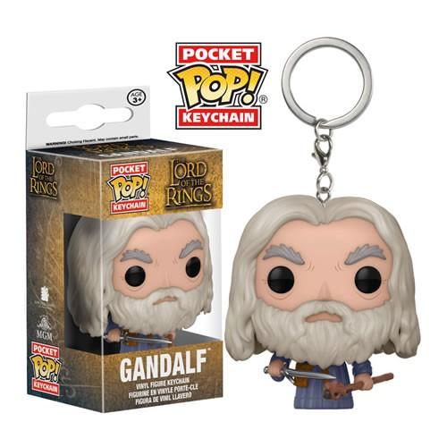 EM BREVE: Pocket Pop Keychains (Chaveiro): Gandalf: O Senhor dos Anéis - Funko