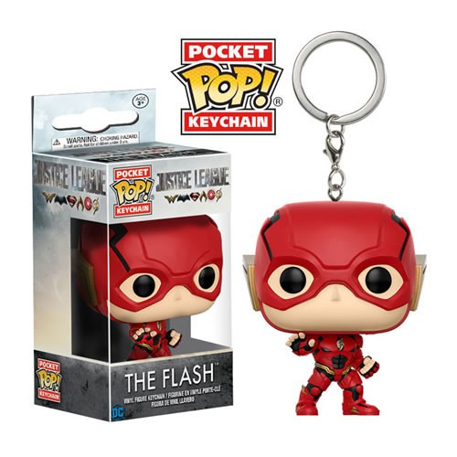 Pocket Pop Keychains (Chaveiro) The Flash: Liga da Justiça (Filme) - Funko