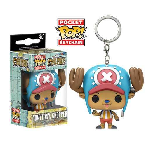 Pocket Pop Keychains (Chaveiro): Tony Tony Chopper: One Piece - Funko