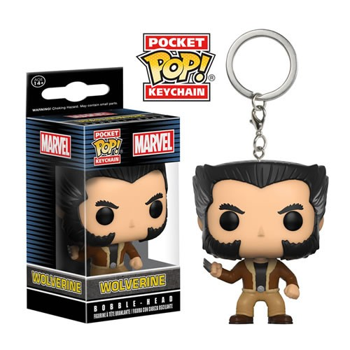 Pocket Pop Keychains (Chaveiro) Wolverine: Marvel X-Men - Funko