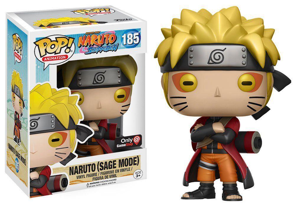 Funko Pop Naruto (Sage Mode): Naruto Shippuden #185 - Funko (EXCLUSIVO)