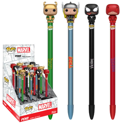 EM BREVE: Pop Caneta (Pen Toppers) Demolidor (Daredevil): Marvel Series 2 - Funko