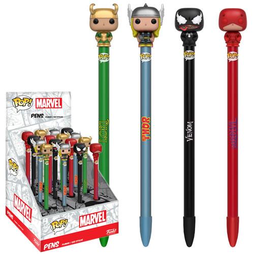 EM BREVE: Pop Caneta (Pen Toppers) Venom: Marvel Series 2 - Funko