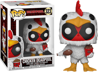 Pop! Chicken Deadpool: Deadpool (Exclusivo) #323 - Funko