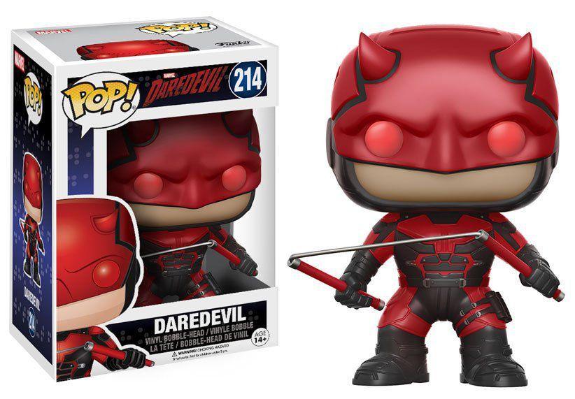 Funko Pop Demolidor (Daredevil): Daredevil #214 - Funko