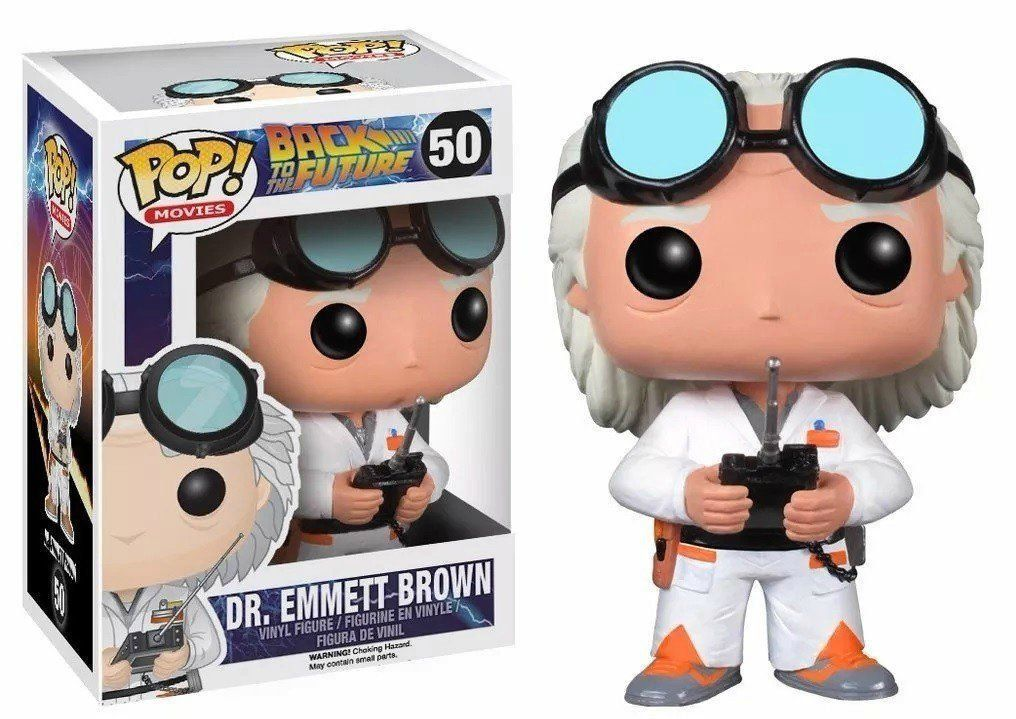 Funko Pop Dr. Emmett Brown: De Volta Para o Futuro (Back To The Future) #50 - Funko
