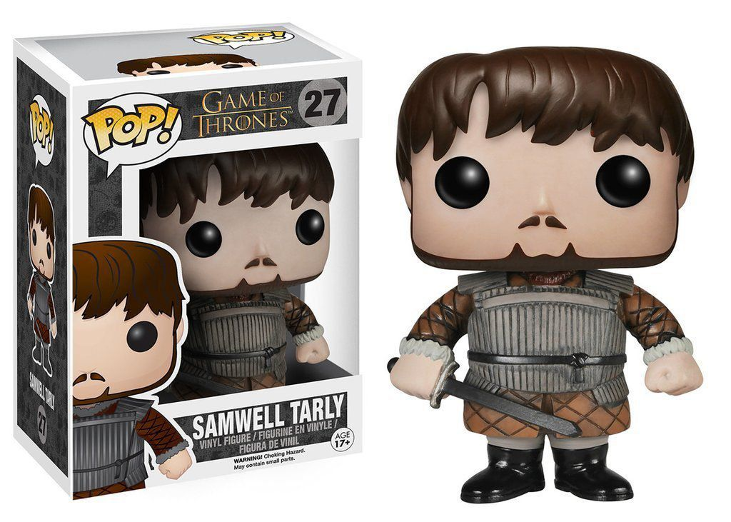 Funko Pop Samwell Tarly: Game Of Thrones #27 - Funko