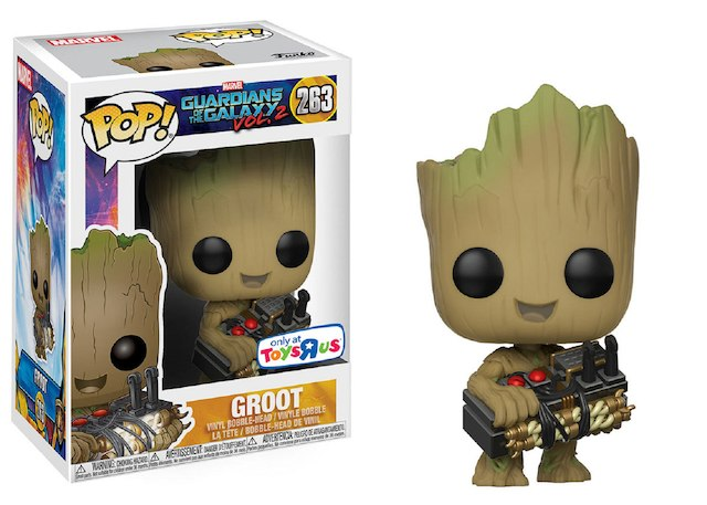 Funko Pop Groot com a Bomba: Guardiões da Galaxia Vol. 2 #263 - Funko
