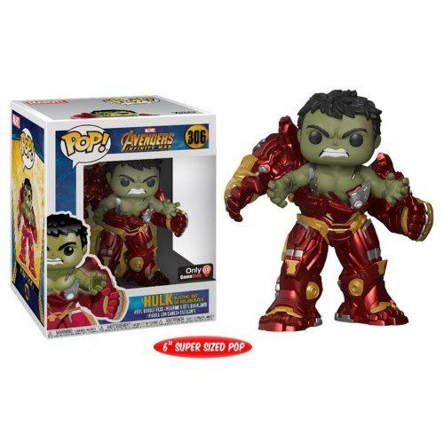 Funko Pop! Hulk Busting Out of Hulkbuster 6