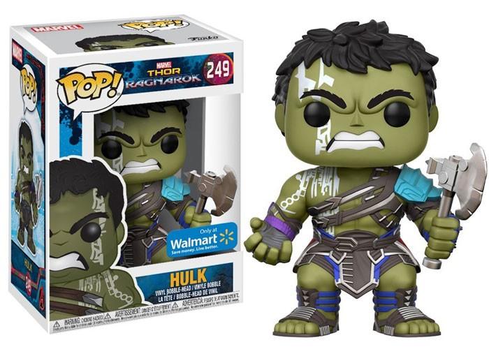 Funko Pop Hulk Gladiador (Gladiator) sem Capacete: Thor Ragnarok #249 - Funko
