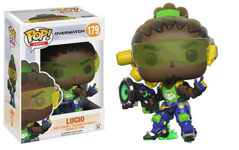 Funko Pop Lucio: Overwatch #179 - Funko