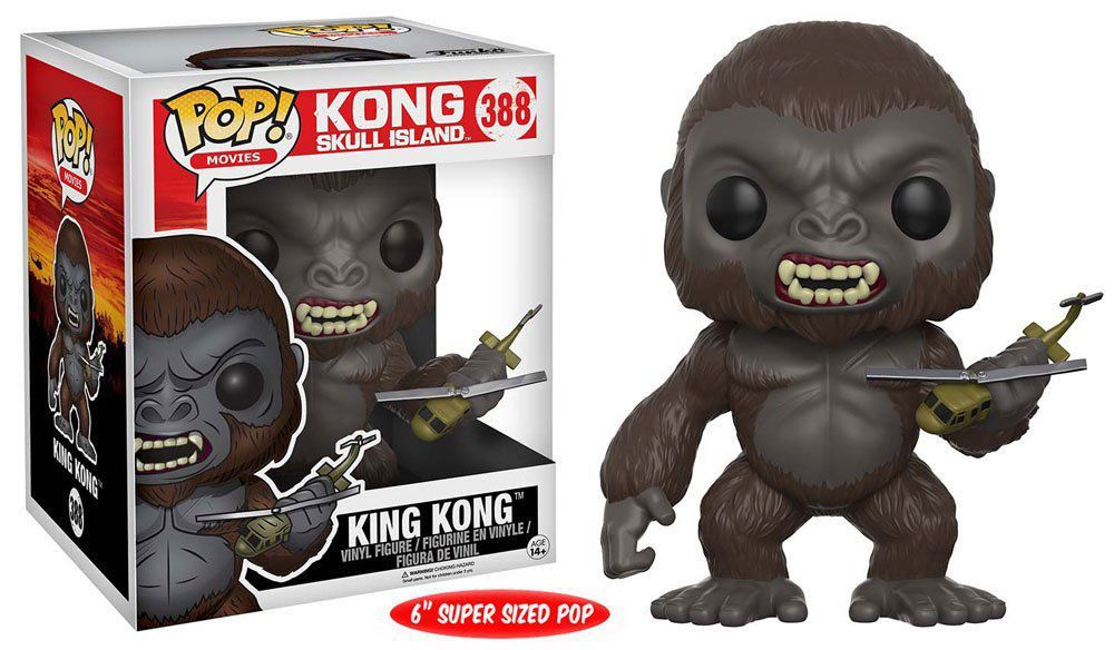 Funko POP! Movies: Kong: A Ilha da Caveira: King Kong #388 - Funko