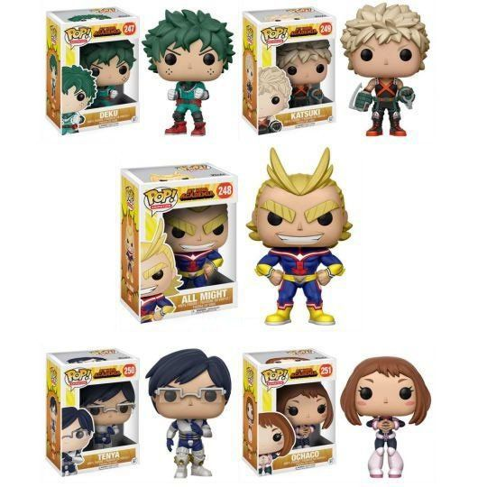 Funko Pop Pack Boku no Hero Academia: Anime (Set de 5) - Funko