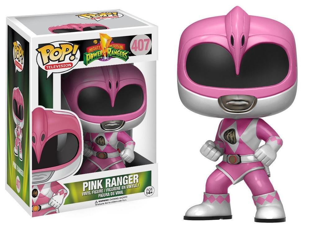 Funko Pop Pink Ranger (Ranger Rosa): Power Rangers #407 - Funko