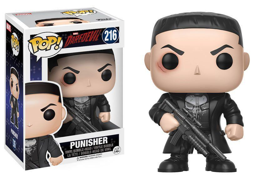 Funko Pop Punisher (Justiceiro) Daredevil #216 - Funko