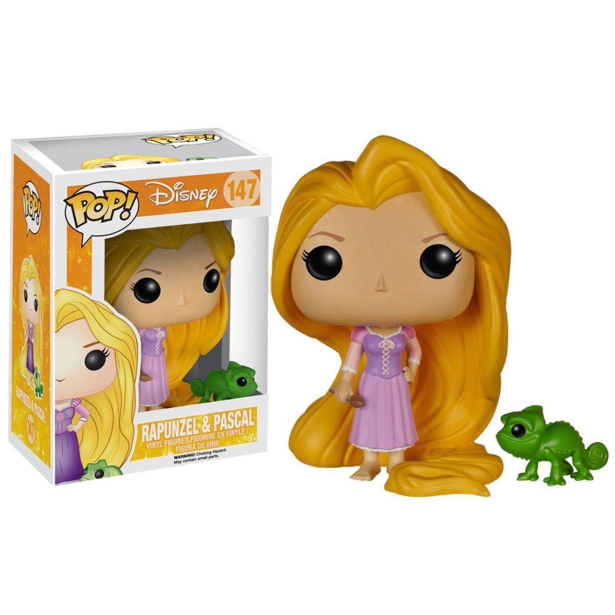 Funko Pop Rapunzel e Pascal: Disney Enrolados #147 Disney - Funko