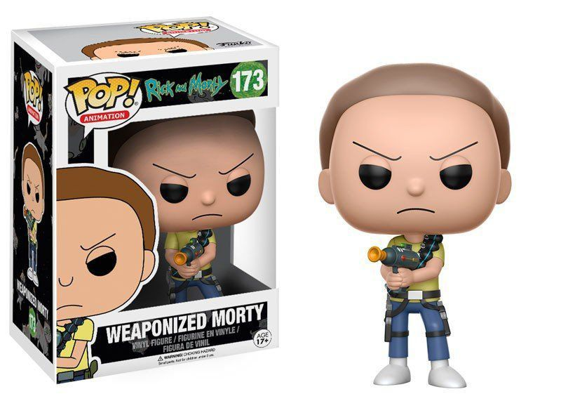 Funko Pop Weaponized Morty: Rick and Morty #173 - Funko