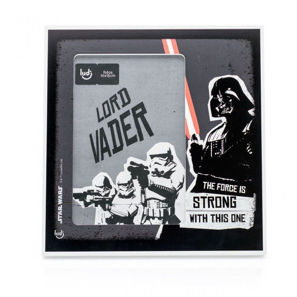 Porta Retrato Darth Vader: Star Wars Saga