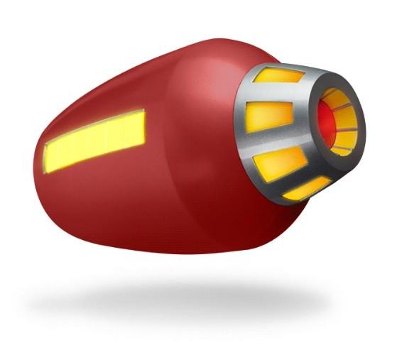 Réplica Canhão de Plasma (Buster) Proto Man: Mega Man