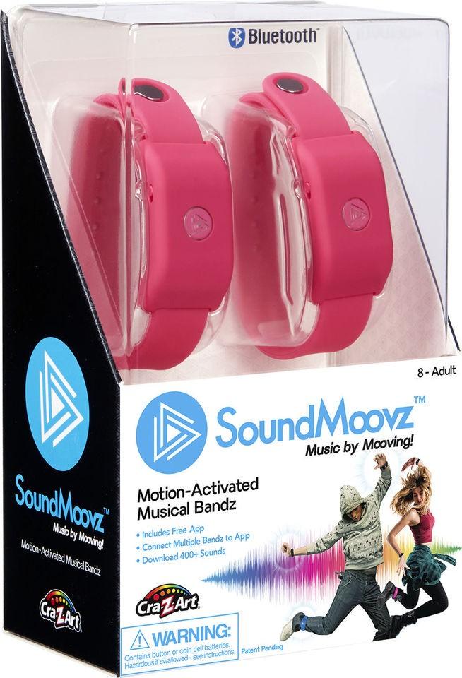 SoundMoovz Musical Bandz Cra-Z-Art - Faça seu Próprio Som (Pulseira Pink)