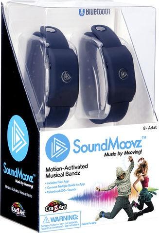 SoundMoovz Musical Bandz Cra-Z-Art - Faça seu Próprio Som (Pulseira Preta)