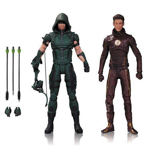 Bonecos Arrow e Flash: TV Series - DC Collectibles