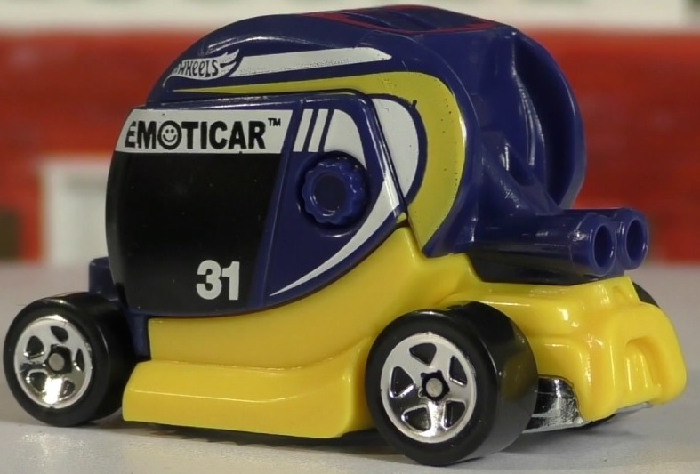 Emoticar Amarelo e Azul - Hot Wheels
